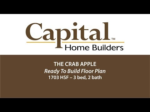 Capital Home Builders Floor Plan - The Crab Apple