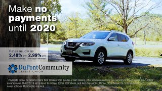No payments until 2020 with a DCCU auto loan