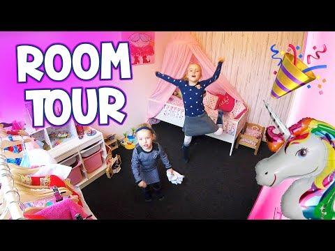 ROOM TOUR - Een Kijkje In Onze Kamers ♥DeZoeteZusjes♥