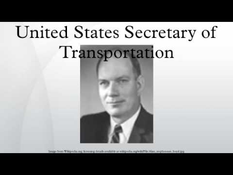 United States Secretary of Transportation