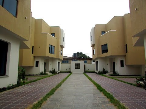 4 Bedroom Executive Townhouse In Airport West-Ghana
