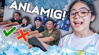 Frozen ICE Quiz Challenge!! (Laughtrip!) | Ranz and Niana