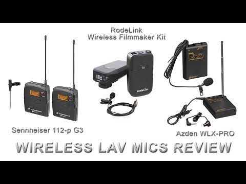 Wireless Lav Mic Review - RodeLink vs Sennheiser vs Azden