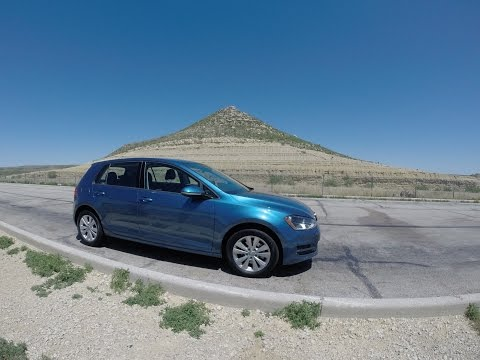 2015 VW Golf 2.0 TDI MPG Dare: Austin to El Paso on 1 Tank of Diesel Fuel?
