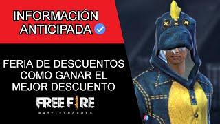 ¡COMO CONSEGUIR el 90% DE DESCUENTO en el NUEVO EVENTO WEB *FERIA DE DESCUENTOS* EN FREE FIRE