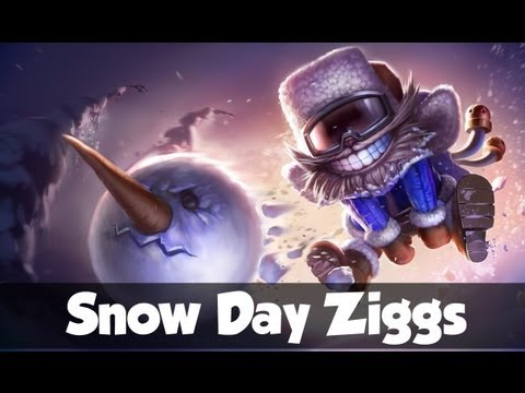 Skin Prewiew Snow Day Ziggs