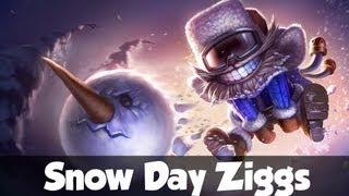 Skin Prewiew Snow Day Ziggs
