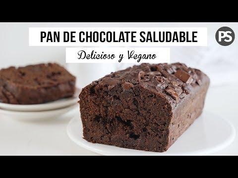 BIZCOCHO DE CHOCOLATE SALUDABLE | SIN HUEVOS, SIN LACTEOS, BAJO EN AZÚCAR | VEG
