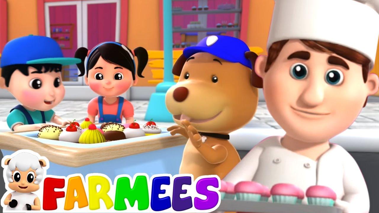 Il pasticcer | Canzoni per bambini | Filastrocche | Farmees Italiano | Cartoni animati