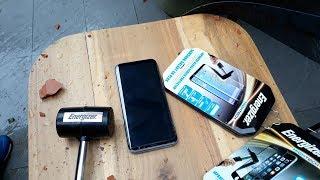 Trên tay kính cường lực Energizer cho smartphone - Công nghệ từ tính, độ cứng rất cao