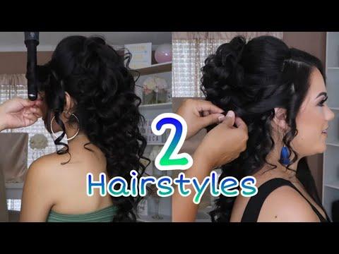 2-peinados-recogidos-fÁciles-cabello-largo- -semirecogidos- -easy-hair-style-for-medium-or-long-hair