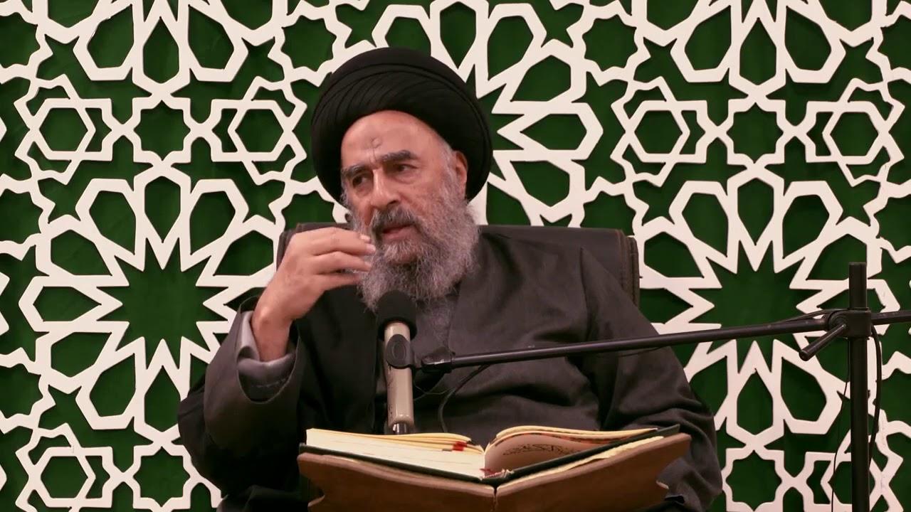 ( وَنَفْسٍ وَمَا سَوَّاهَا  ) ٧ -- للمرجع الديني السيد محمد تقي المدرسي
