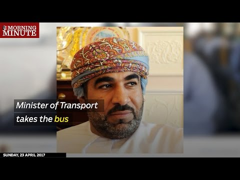 The Minister of Transport tried the Mwasalat bus and a Marhaba taxi. Here's what he found out.