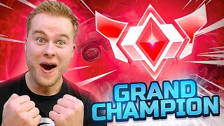 HET IS GELUKT! IK BEN GRAND CHAMPION! 🏆 - Rocket League Ranked (Nederlands)