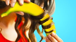 25 WEIRD HAIR HACKS YOU TOTALLY HAVE TO TRY