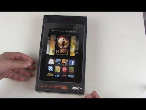 Amazon Kindle Fire HDX 7 Unboxing