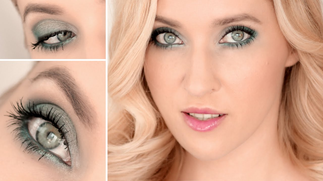 fall makeup tutorial 2014 ✿ for green, grey, hazel and brown eyes :)