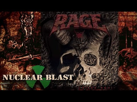 RAGE -  'THE DEVIL STRIKES AGAIN' - Artwork and Title (OFFICIAL TRAILER #4)