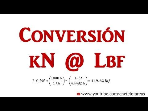 convertir-de-kilonewton-a-libras-fuerzas-(kn-a-lbf)
