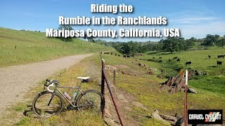 California Gravel Cycling! Riding the Rumble in the Ranchlands Course, Mariposa County