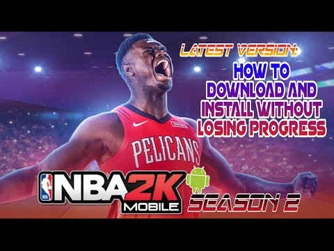 HOW TO UPDATE NBA 2K MOBILE SEASON 2 (V2.10.0.442949) WITHOUT LOSING PROGRESS