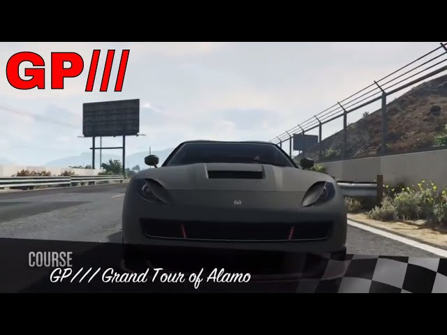 GP/// Grand Tour of Alamo - Racetrack Showcase (GTA Online - PS4) Pariah