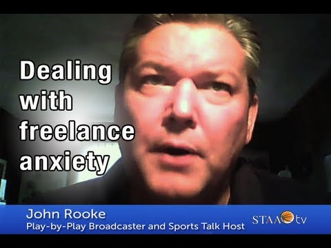 Dealing with freelance anxiety - John Rooke | STAA TV Ep. 75
