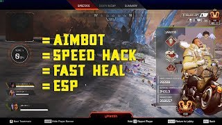 Predators are Cheaters | Apex Legends Season 4 | Aimbot, ESP, Speed Hack, Fast Heal