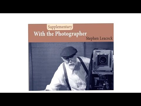 WITH THE PHOTOGRAPHER(Tamil) -Stephen Leacock