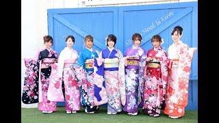 R・I・P GIRLSの犬童美乃梨、橋本梨菜、森咲智美、葉月あや、仲村美海、...