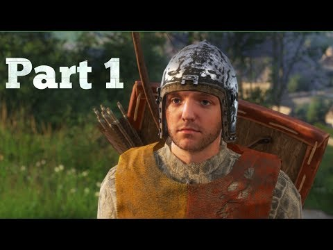 Kingdom Come Deliverance - Gameplay Walkthrough (Part 1) No Commentary | Subbed!