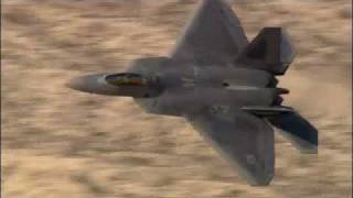 Lockheed Martin F22 Raptor and F35 Lightning II