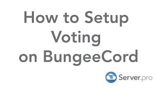 How to Setup Voting on BungeeCord - Server.pro