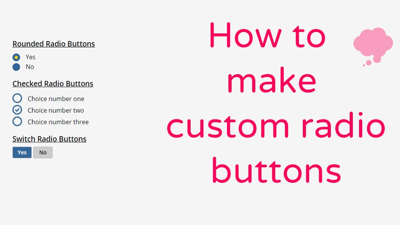 To acquire Radio css stylish buttons pictures trends