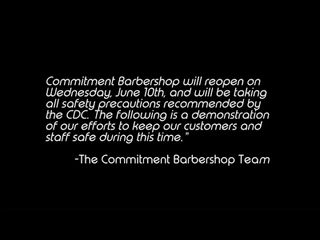 Commitment Barbers Promo Video