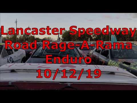 Lancaster Speedway Road Rage-A-Rama: Enduro - 10/12/19