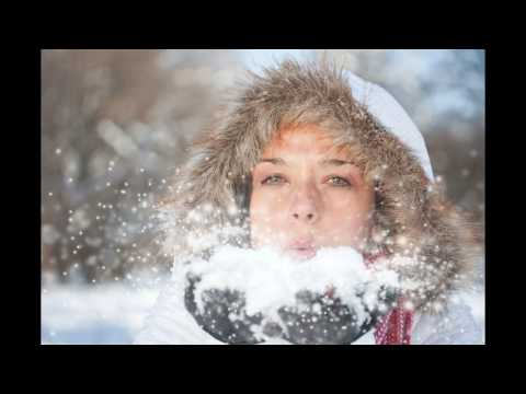 Очень красивый стих про снег и музыка тоже