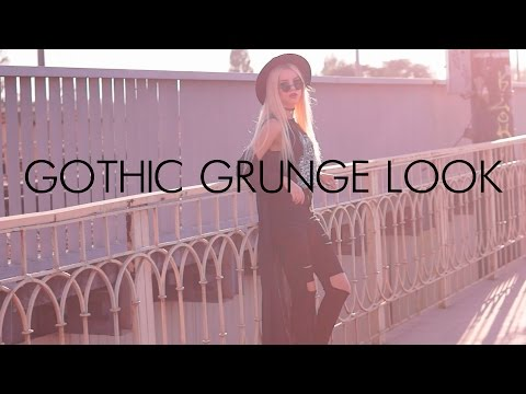 GRUNGE LOOK. Grunge Outfit Idea. Grunge Style Lookbook by fashion blogger.