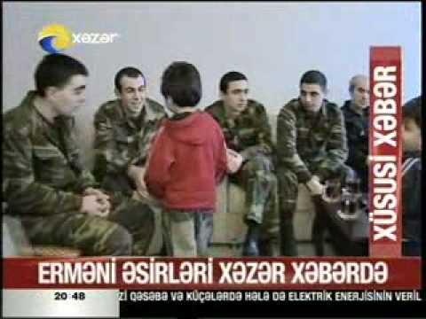 Армянские пленные лучше живут в Азербайджане