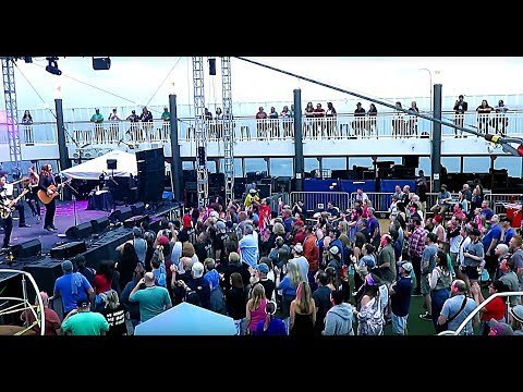 Alan Doyle & The Beautiful Beautiful Band (+ Ed Robertson), Rock Boat Pool Deck Show (6 Songs)