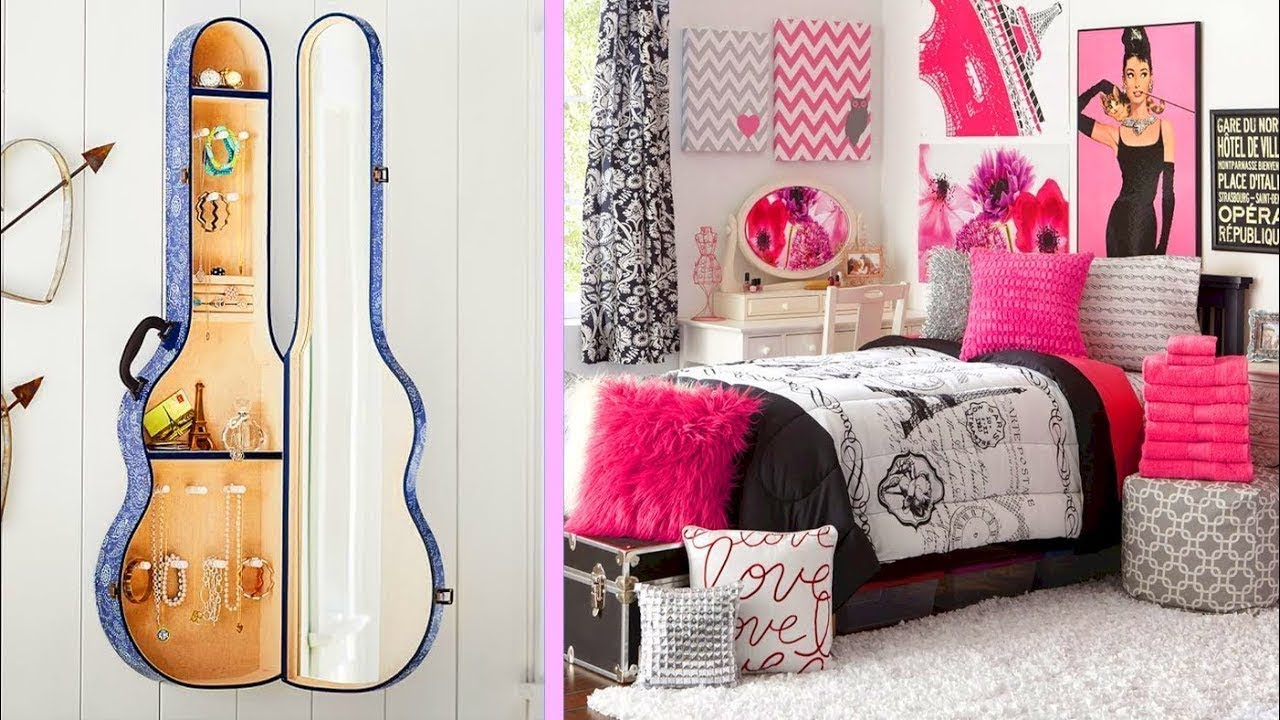 Coolest Room Decor Girl Ideas 5 Minute Ideas Girly Youtube