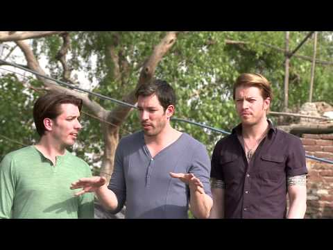 Property Brothers visit an India slum | World Vision
