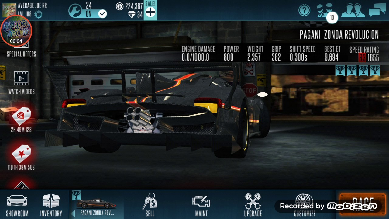 Hack racing rivals on iphone