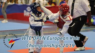 WTE OPEN European Kids Championships Day 1 Court 03