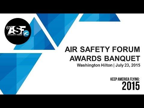 2015 Air Safety Forum Awards Banquet
