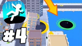 Out Of The Map GLITCH! Bots Cheating?! - Hole.io Gameplay Walkthrough Part 4