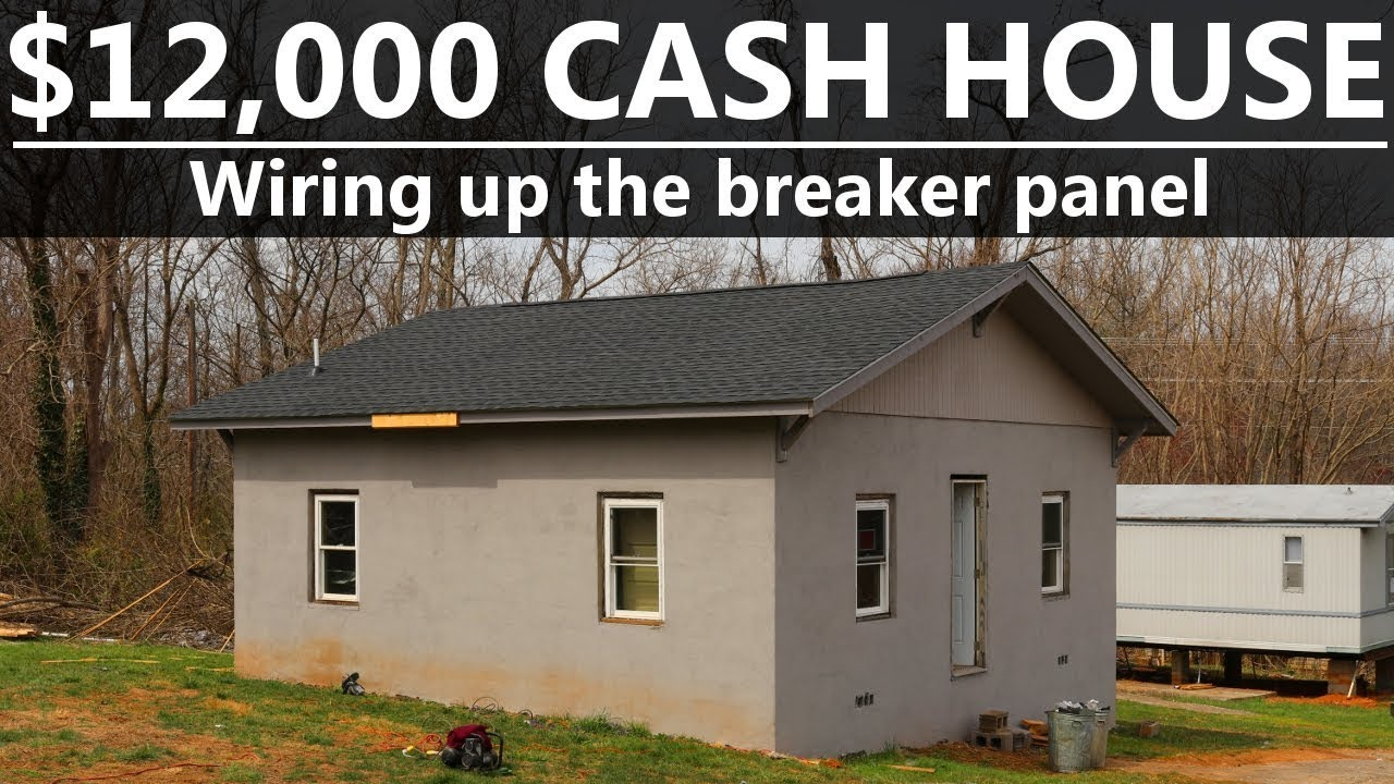 12000 Cash House Wiring A Breaker Box 31 Youtube Up