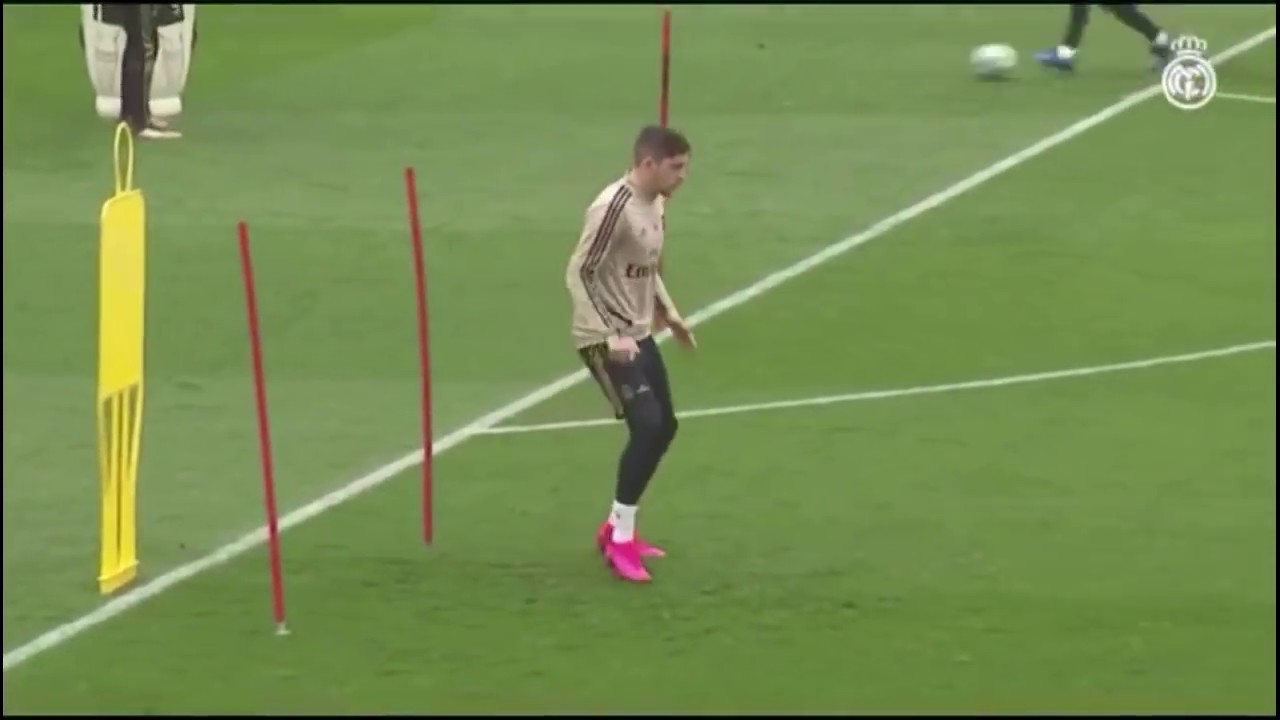 REAL MADRID TRAINING OF THE WEEK