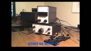 qrp ohr explorer ii cw qso on 40 meters 2 watts