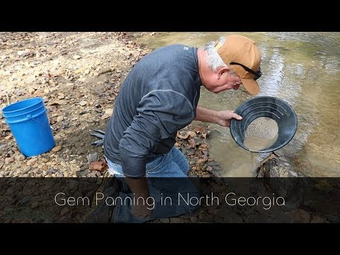 Gem Panning In North Georgia